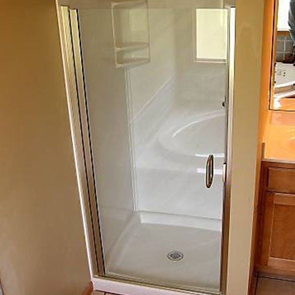 Super Semi Frameless Shower Doors Raleigh NC | Shower Glass UV92